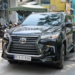 Body kit Fortuner 2019 -2020 Mẫu Lexus 570