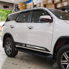 Ốp Hông Zin Theo Xe Toyota Fortuner 2020 Cao Cấp