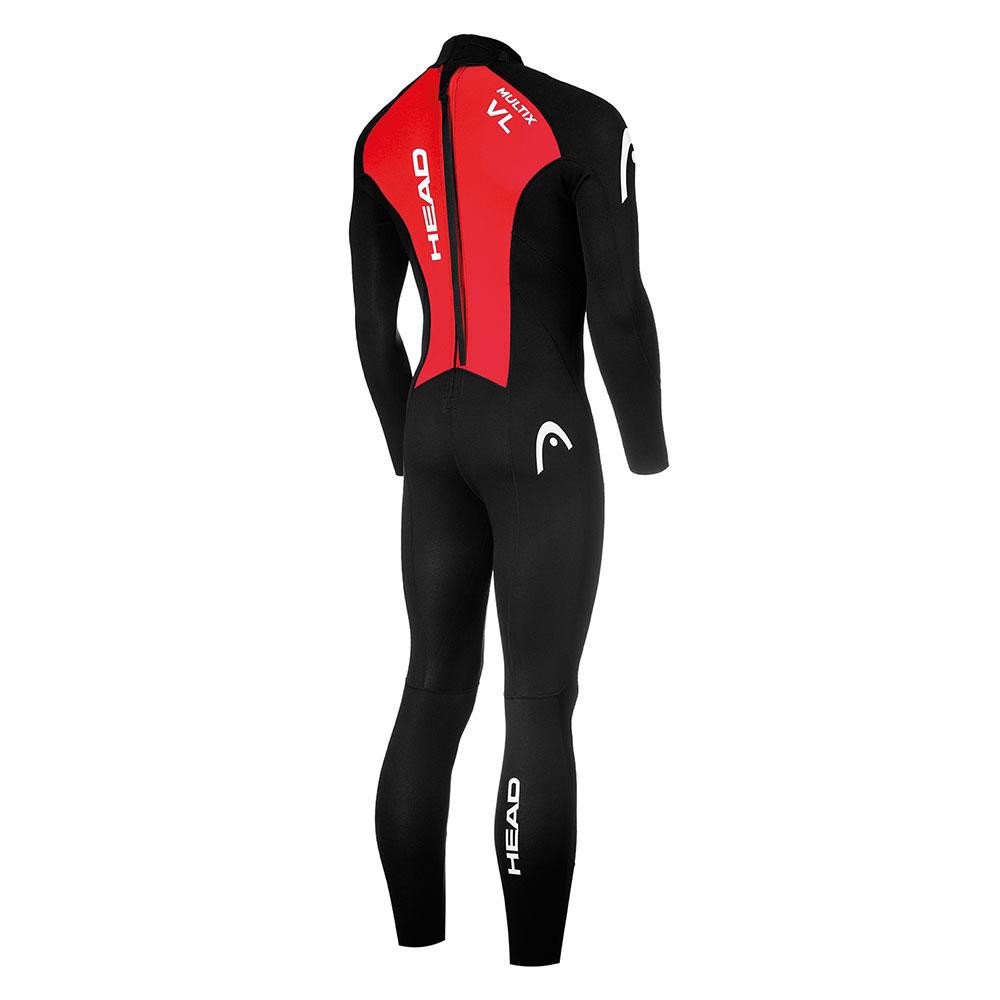 Áo Head Multix VL 2´5 Black / Red XS