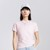 Hồng / Cotton + Polyester / XS