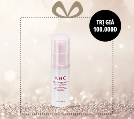 [GIFT] AHC Peony Bright Luminous Serum 5ml