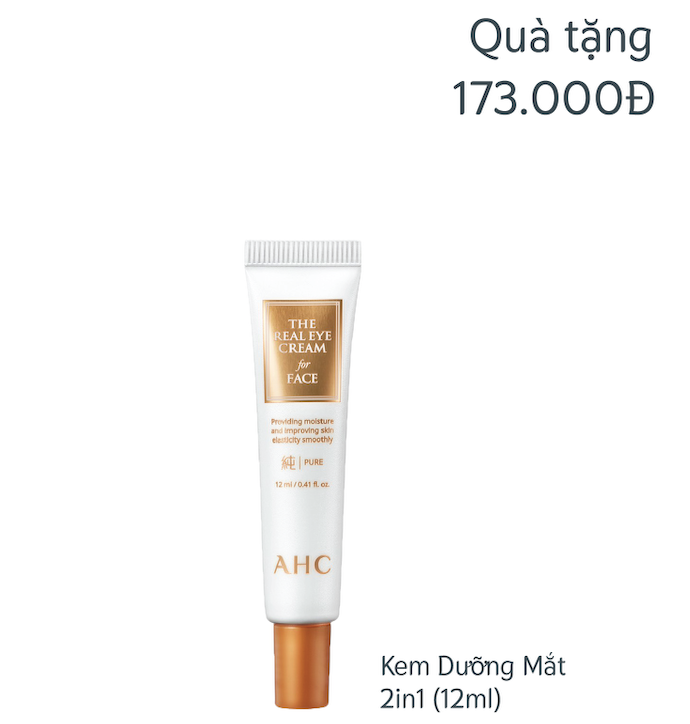 [Gift] Kem mắt 12ml (BILL AHC 1TR NOV)