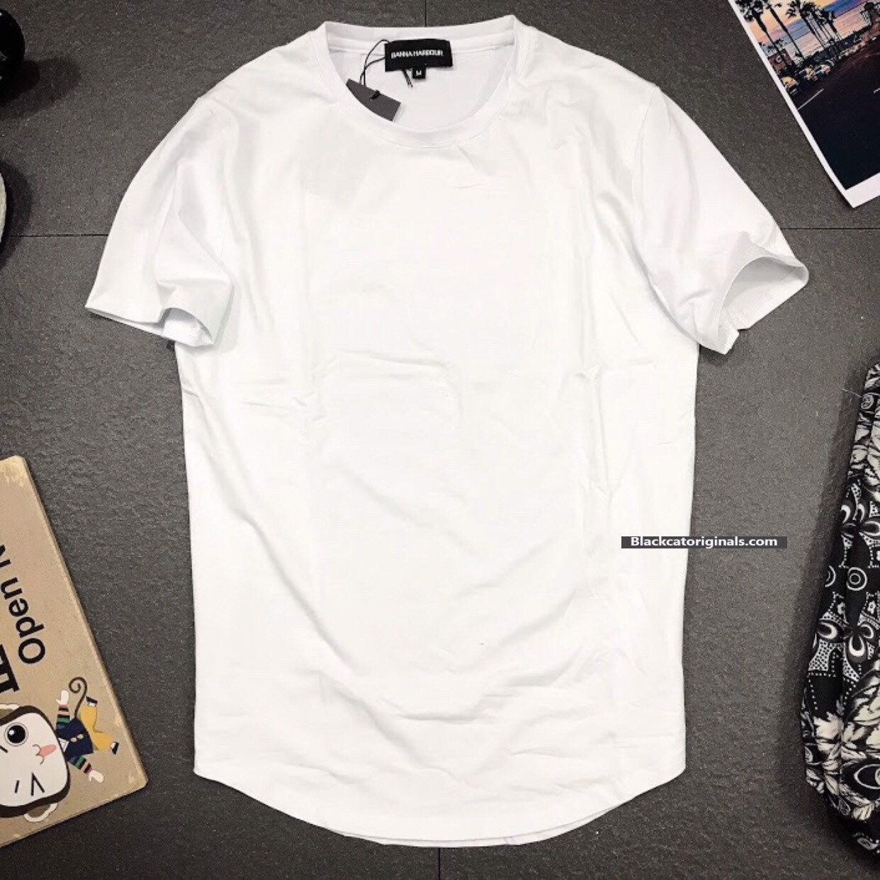 Long Tee TJ2000 White