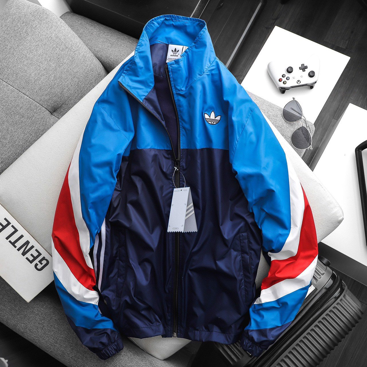 Das Color block WB Jacket