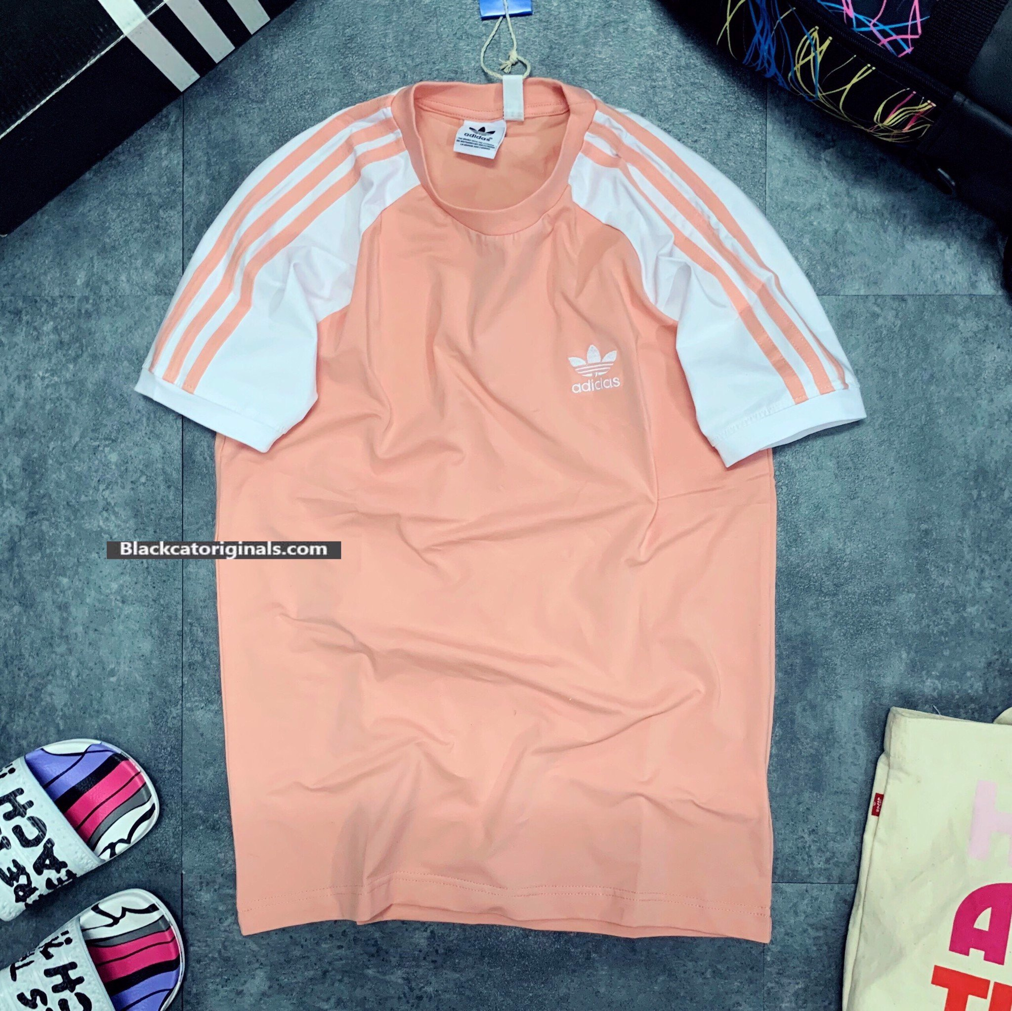 Das 3Stripes Tee Pink