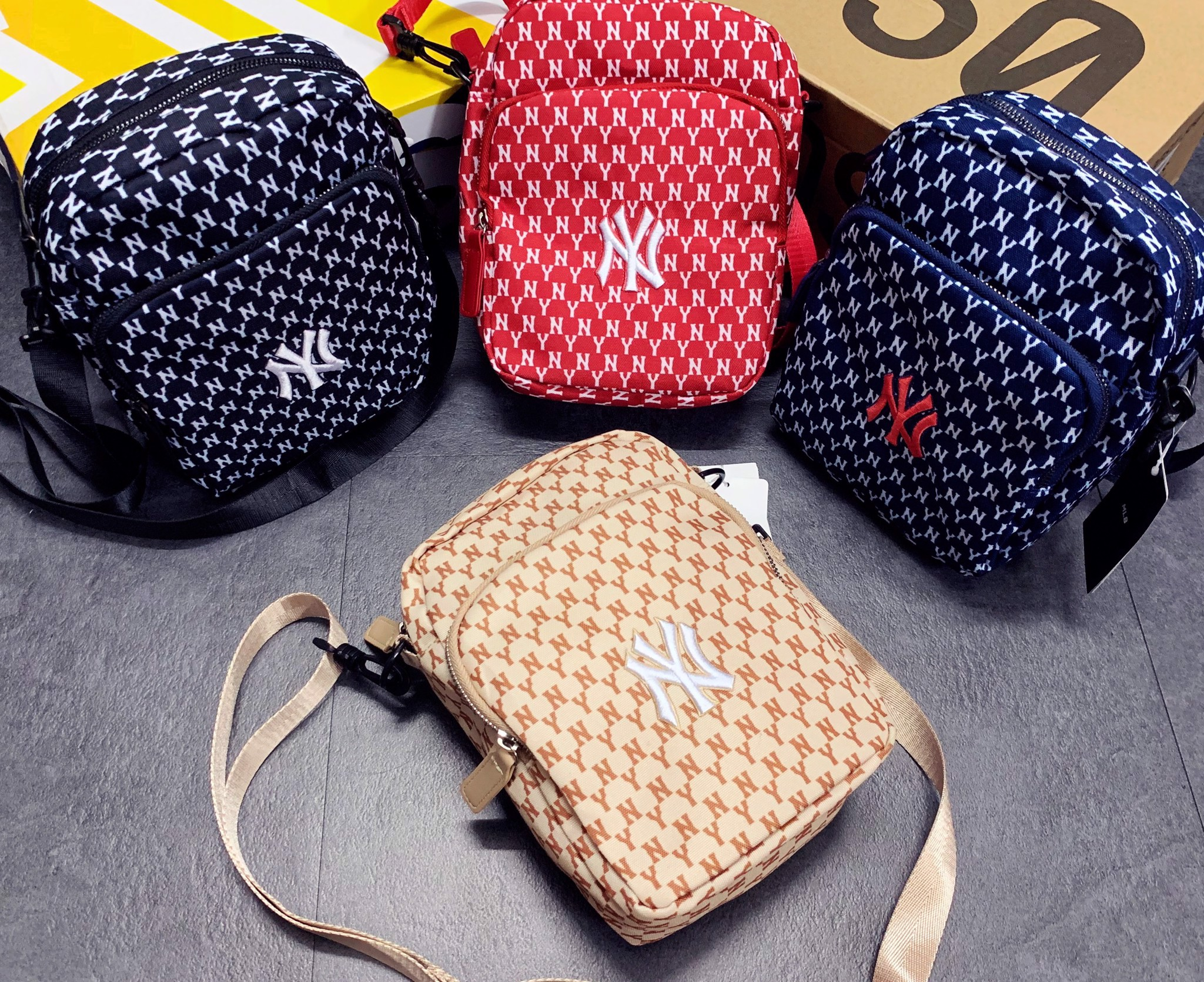 NY Monogram mini bag