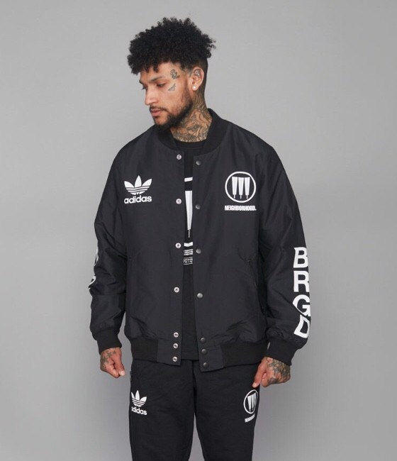 Adidas Neighborhood sttadium jacket