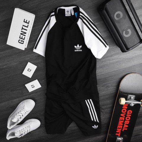 Set Das 3-Stripes Đen