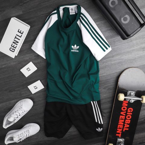 Set Das 3-Stripes xanh
