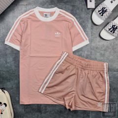 Set Das 3Stripes Pink