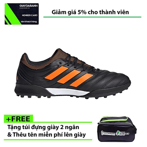 Adidas Copa 20.3 TF EH1488 Precision To Blur Pack - Black/ Signal Orange