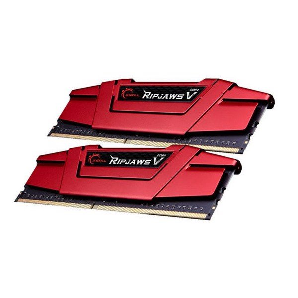G.Skill Ripjaws V 16GB (2 x 8GB) DDR4 2400MHz CL19 Memory Kit – Red
