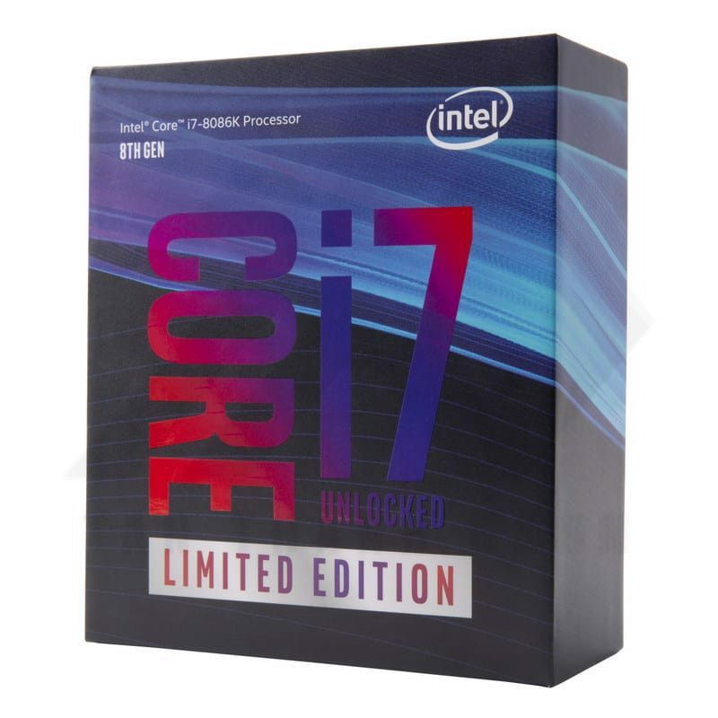 Intel 8th Generation Core i7-8086K Limited Edition Processor