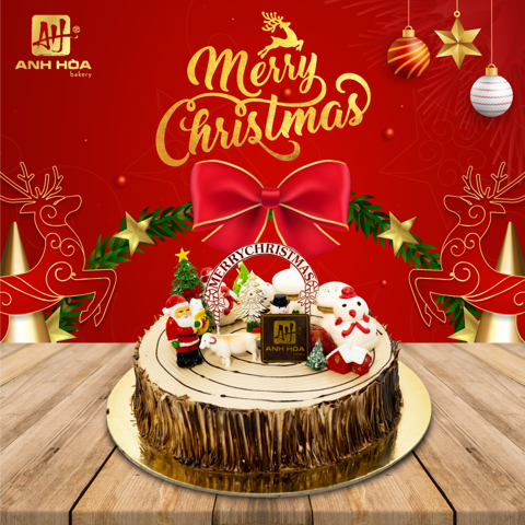 COFFEE CHRISTMAS CAKE