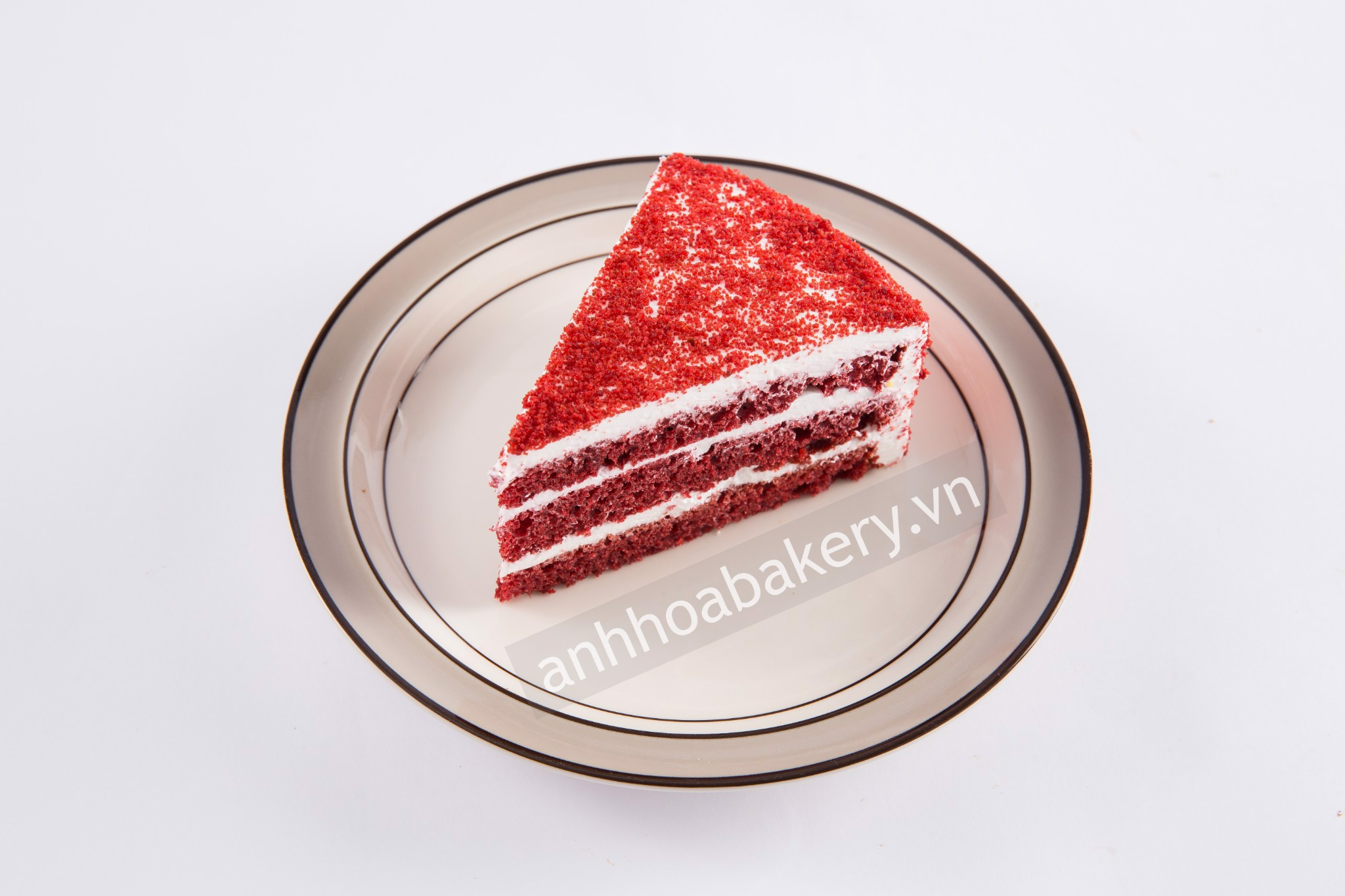 Red velvel cake piece