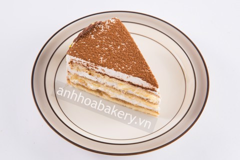 Capuchino cake piece