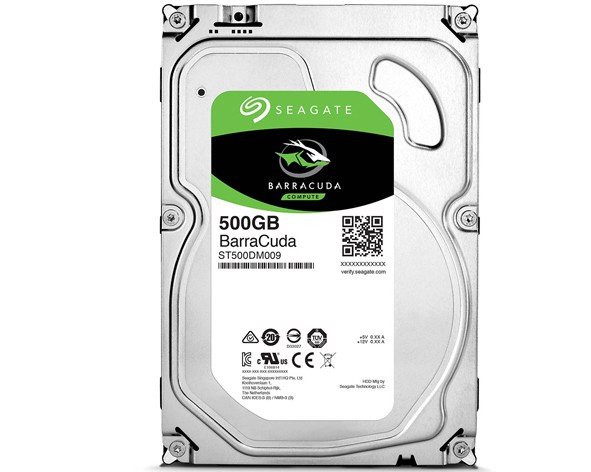 Ổ cứng HDD Seagate Barracuda 500GB Sata