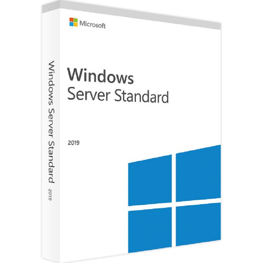 Windows Server Std 2019 64Bit English 1pk DSP OEI DVD 16 Core (P73-07788)