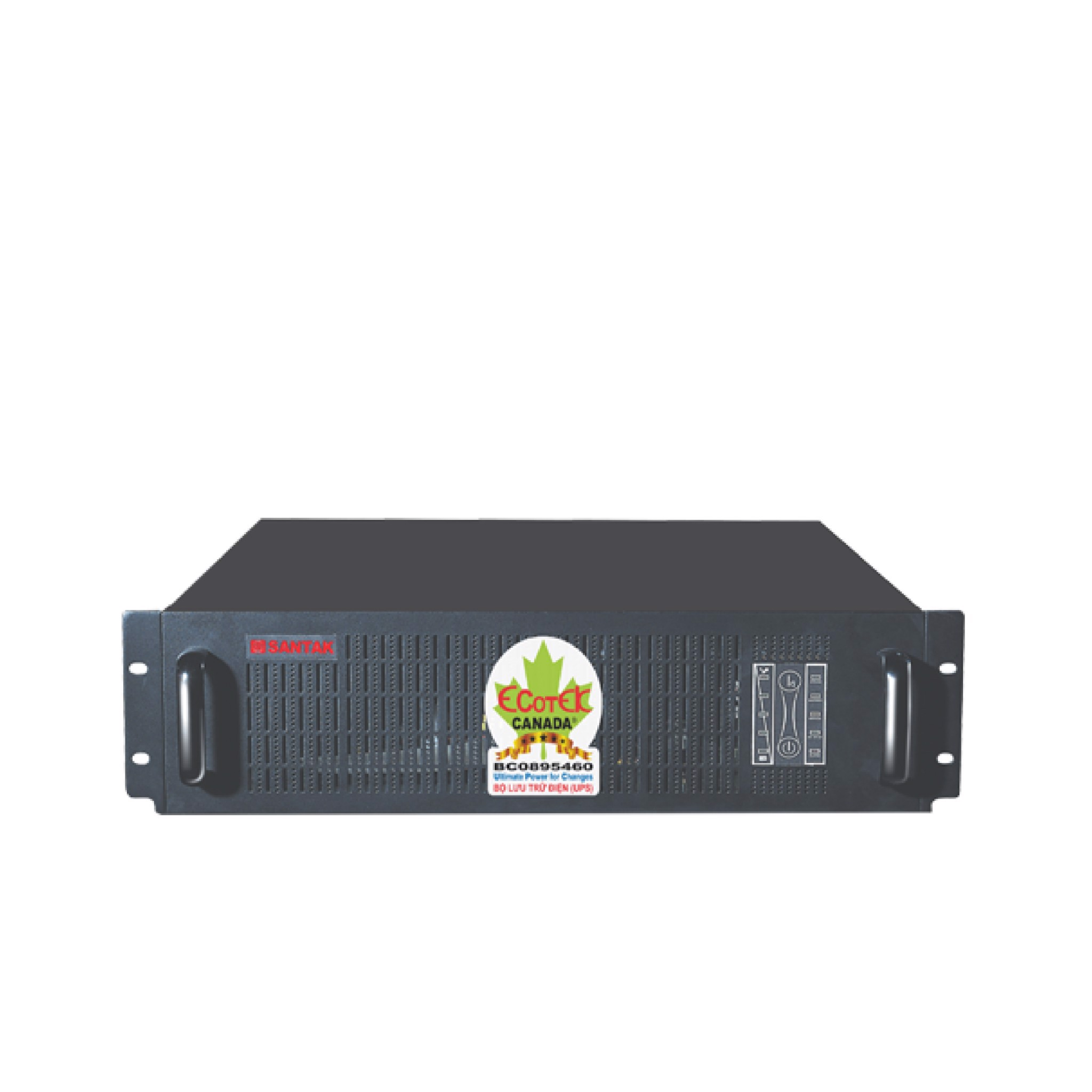 UPS SANTAK TRUE ONLINE RACK MOUNT 1KVA - MODEL C1KR