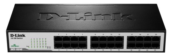Switch D-Link DES-1024D 24‑Port Fast Ethern