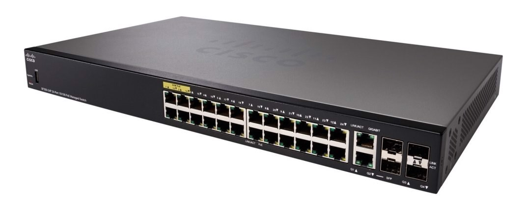 Switch Cisco SF350-24P 24-Port  (SF350-24P-K9)