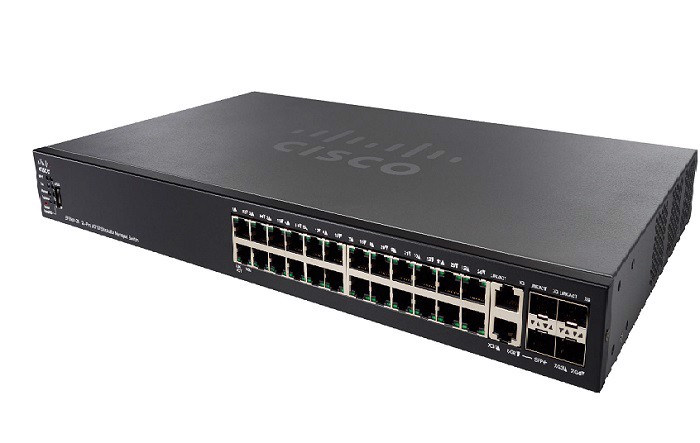 Switch Cisco SF550X-24 24-Port  (SF550X-24-K9)