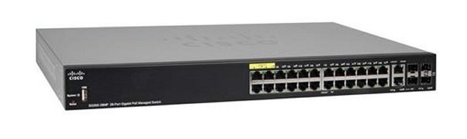 Switch Cisco SG350-28MP 284-Port (SG350-28MP-K9)