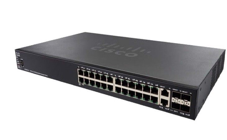 Switch Cisco SG550X-24 24-Port (SG550X-24-K9)