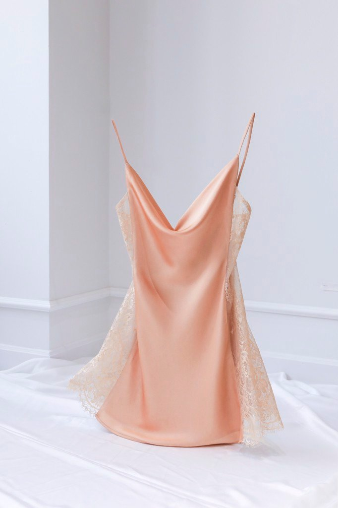 Nude BE LOVED SLIPDRESS