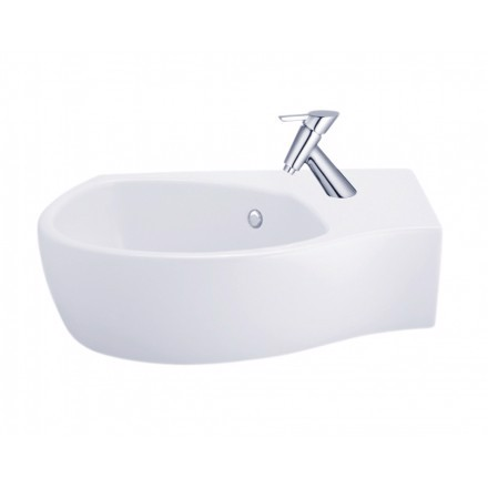 Chậu Lavabo COTTO C02797 Space Solution Đặt Góc