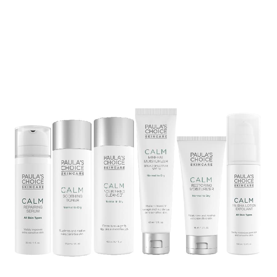 Calm Advanced Kit For Normal To Oily có 6 sản phẩm