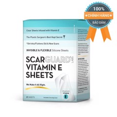 Miếng dán trị sẹo lồi Scarsheet (ScarGuard Vitamin E Sheets) Silicone