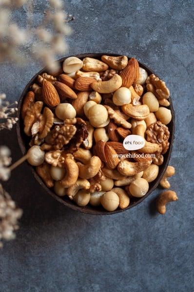 hạt dinh dưỡng mixed 4 loại hạt - mixed nuts