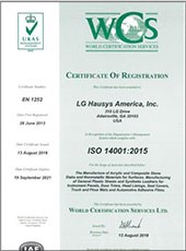 2018 viatera quartz iso 14001 certification us plant pdf