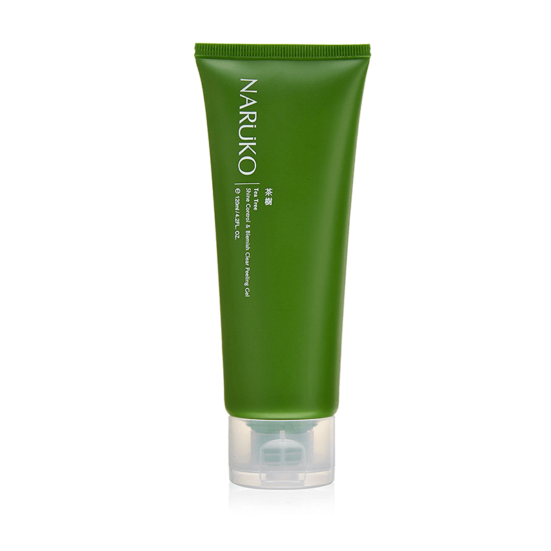 Tẩy Da Chết Trị Mụn Naruko Tea Tree Shine Control and Blemish Clear Peeling Gel 120gr
