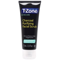 Tẩy Da Chết T-Zone Charcoal Purifying Facial Scrub 75ml