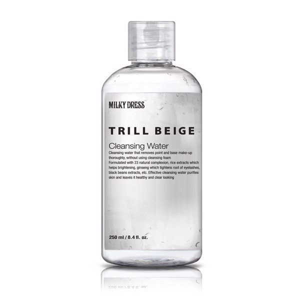 Nước Tẩy Trang Milky Dress Trill Beige Cleansing Water 250ml