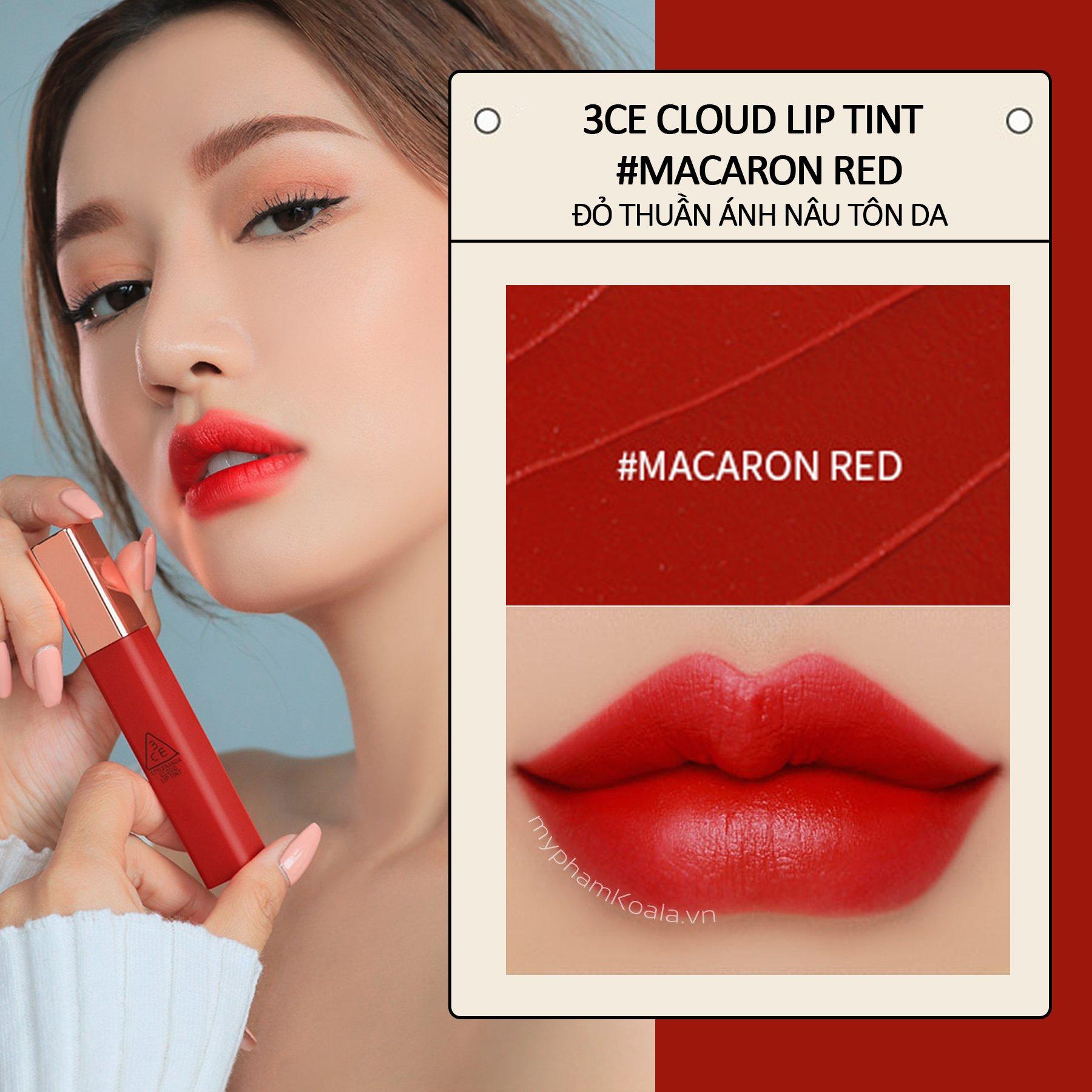 Son Kem Lì Siêu Mịn 3CE Cloud Lip Tint