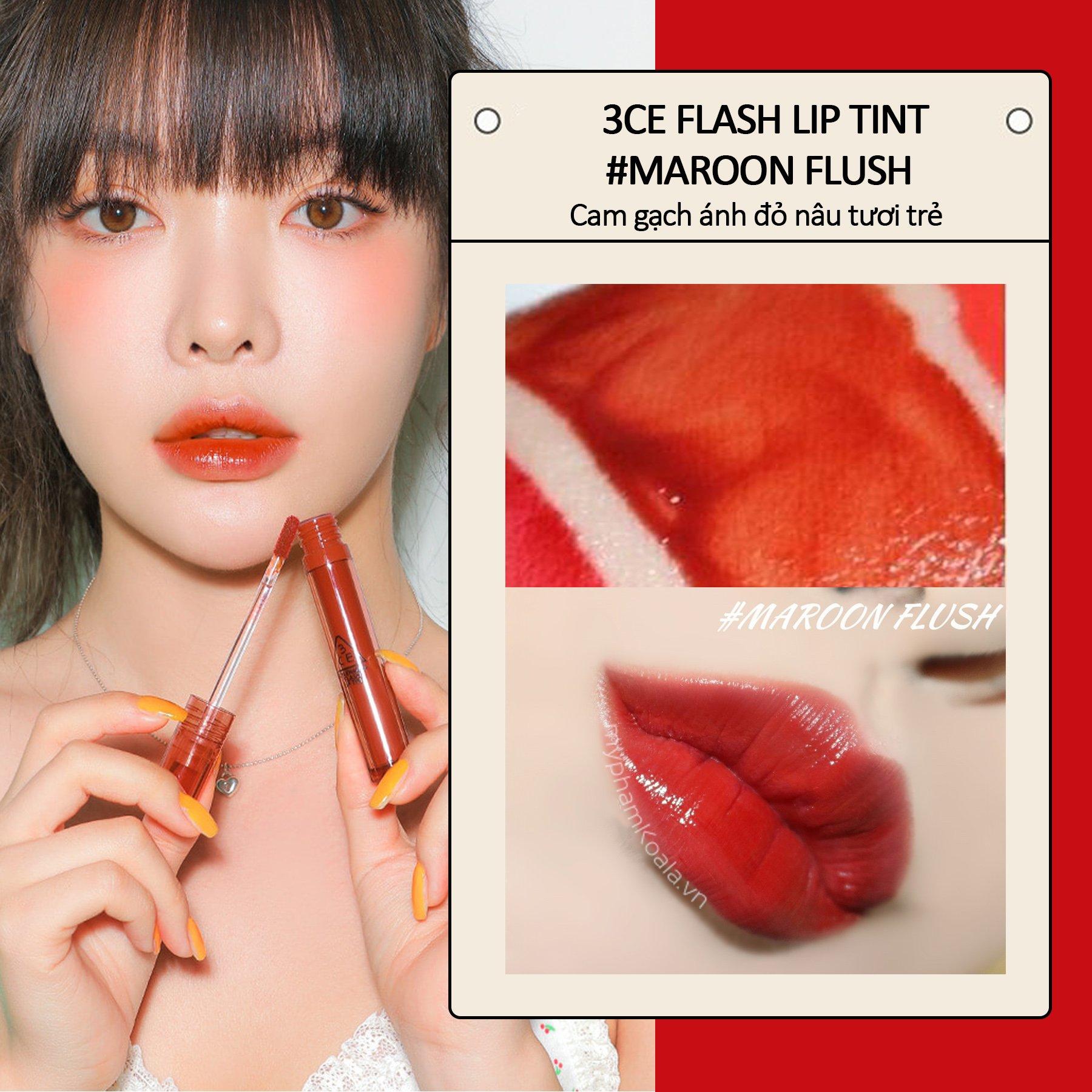 Son Tint Siêu Lì 3CE Flash Lip Tint