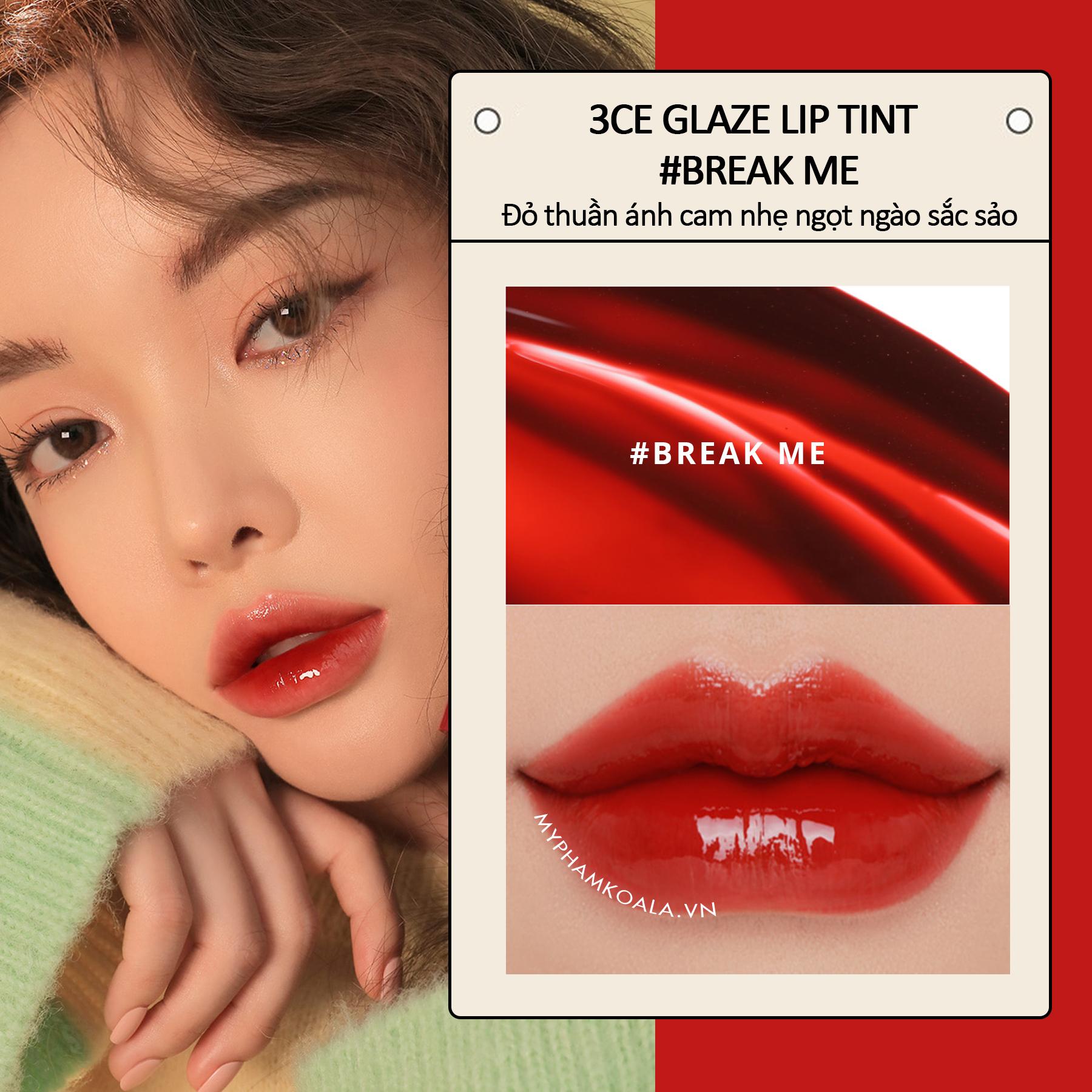 Son Tint Lì 3CE Glaze Lip Tint