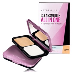 Phấn Nền Maybelline Clear Smooth All In One Light Spf 20PA++ 9g