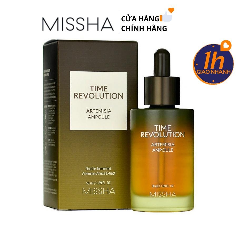 Tinh Chất Giảm Mụn Dịu Da Missha Time Revolution Artemisia Treatment Ampoule 50ml