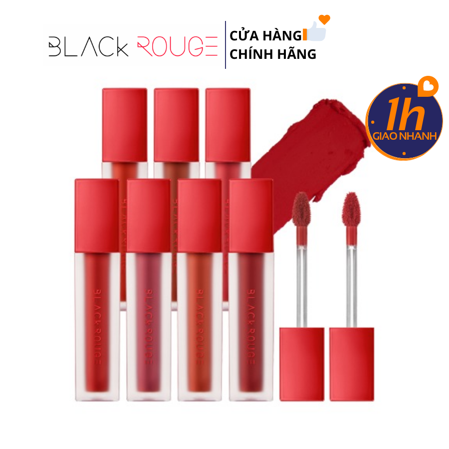[HOT] Son Kem Lì Black Rouge Air Fit Velvet Tint #06 - Đỏ Nâu