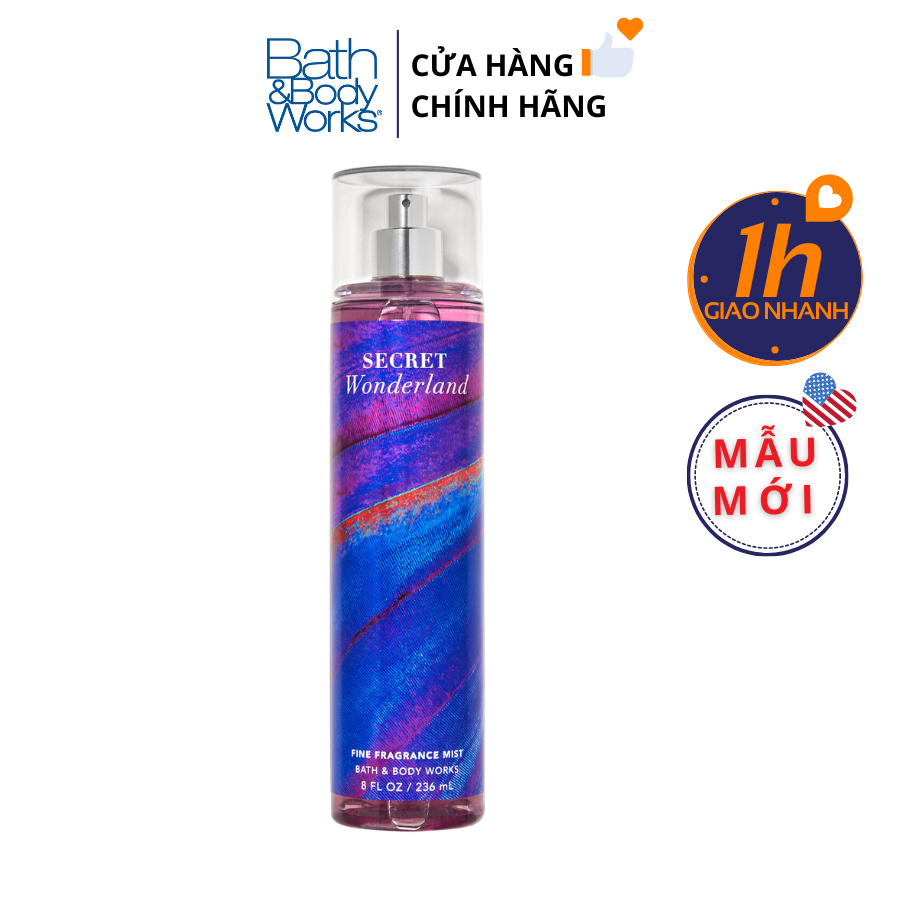 Xịt Body Bath & Body Works SECRET WONDERLAND Fine Fragrance Mist