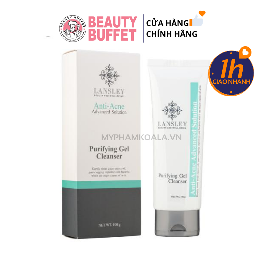 Gel Rửa Mặt Ngừa Mụn Beauty Buffet Lansley Anti-Acne Advanced Solution Purifying Gel Cleanser