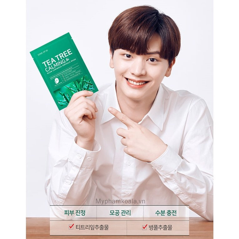Mặt nạ Trị Thâm Mụn Some By Mi Tea Tree Calming Mask Sheet 25g