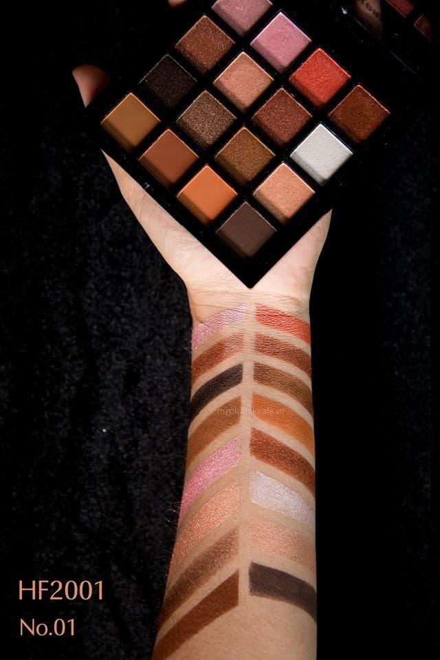 Màu Mắt 16 ô Sivanna Colors Ultra Definition Eyeshadow