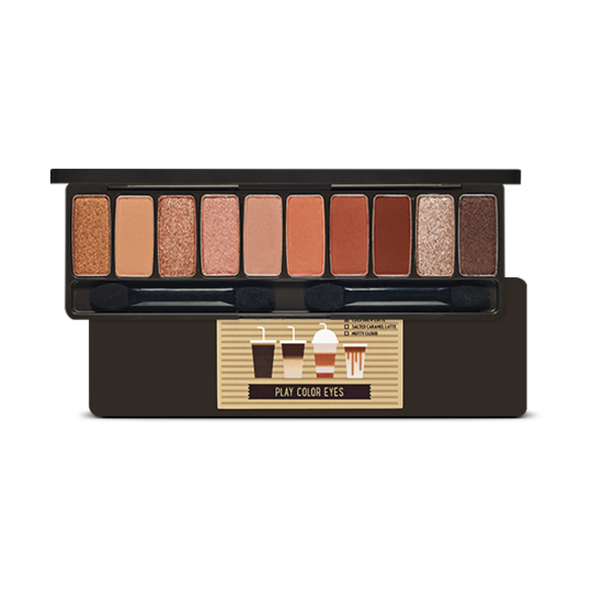 Bảng Màu Mắt 10 ô Etude House Play Color Eyes #Caffeine Holic