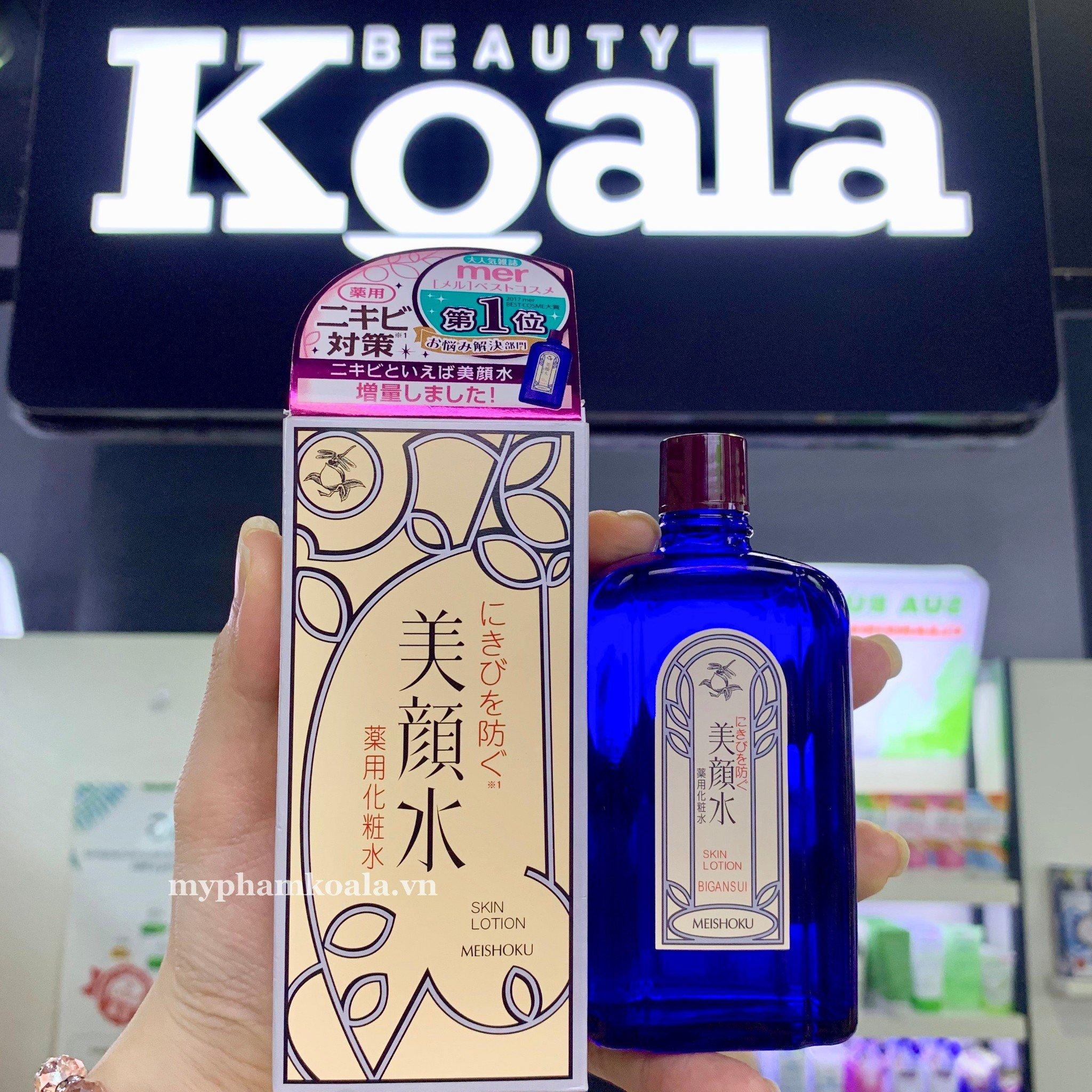 Lotion Trị Mụn Bigansui Meishoku Medicated Skin Lotion 80ml