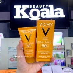 Kem Chống Nắng Vichy Ideal Capital Soleil Mattifying Dry Touch Face Fluid 50ml